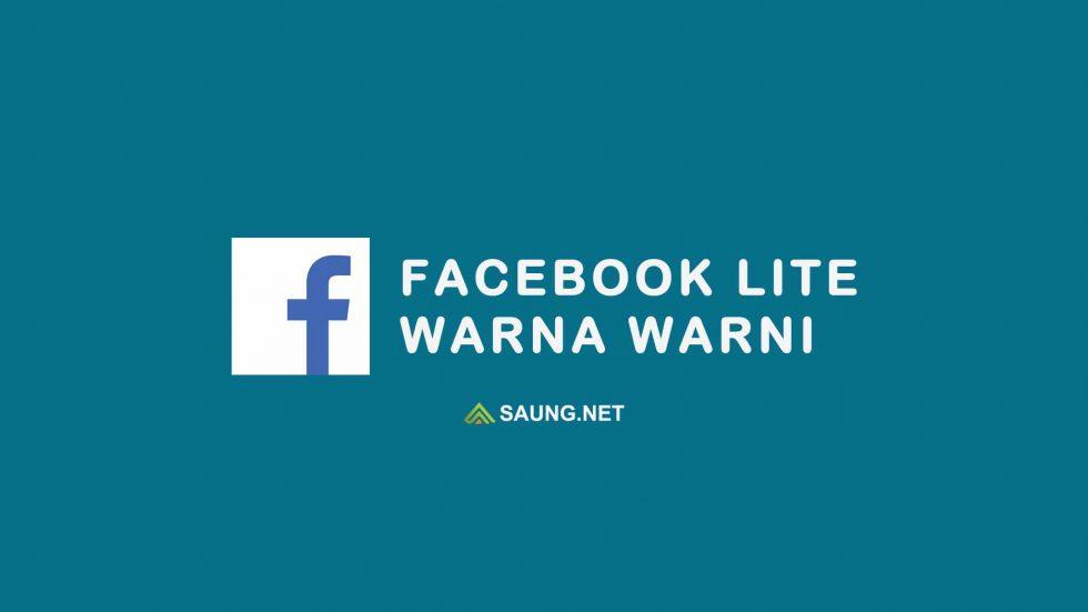 facebook lite warna warni
