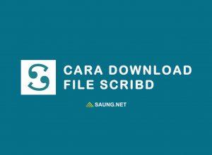 cara download scribd
