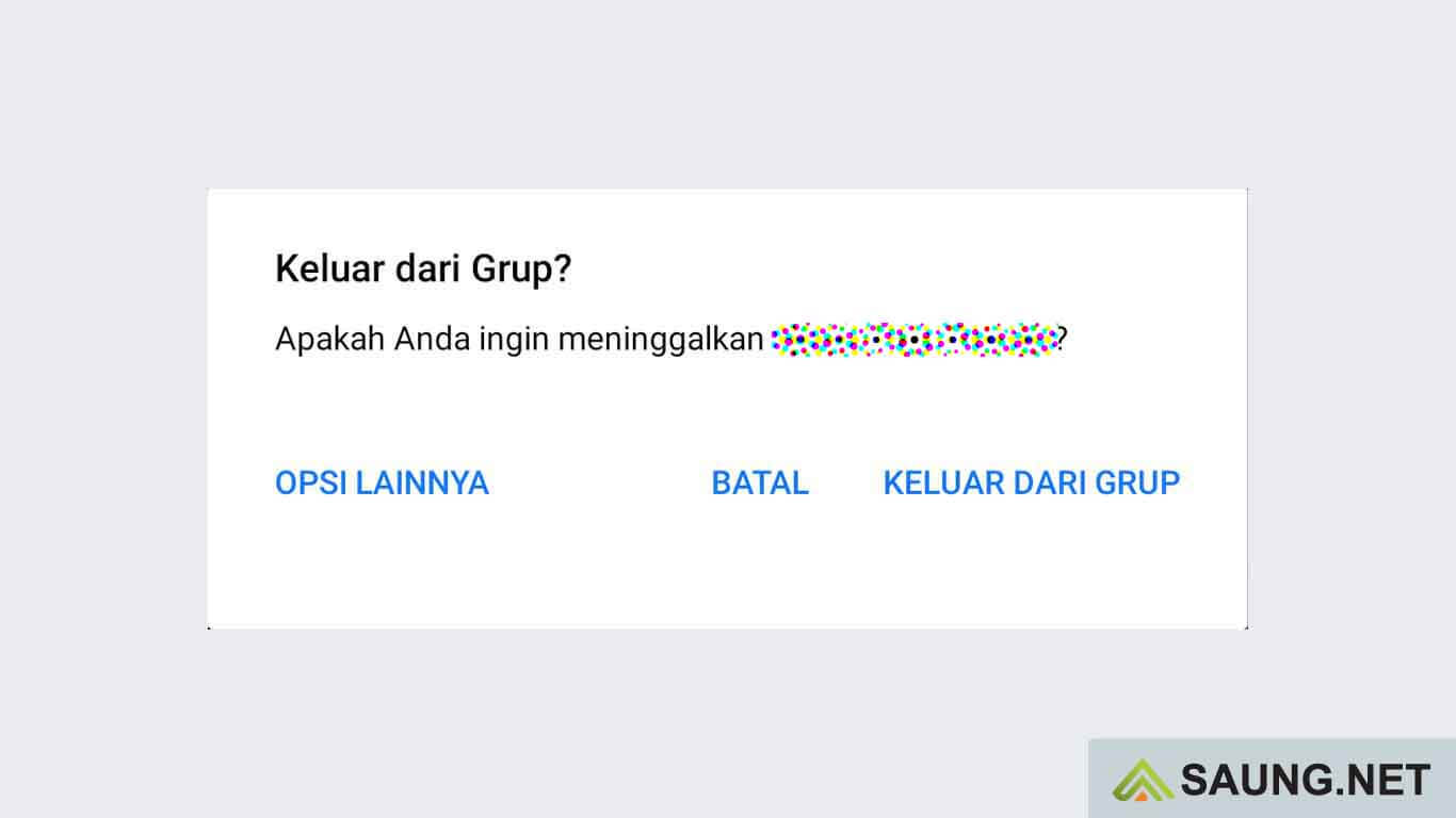 cara menghapus semua grup di fb