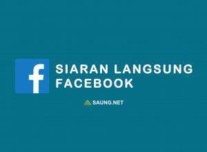 siaran langsung facebook