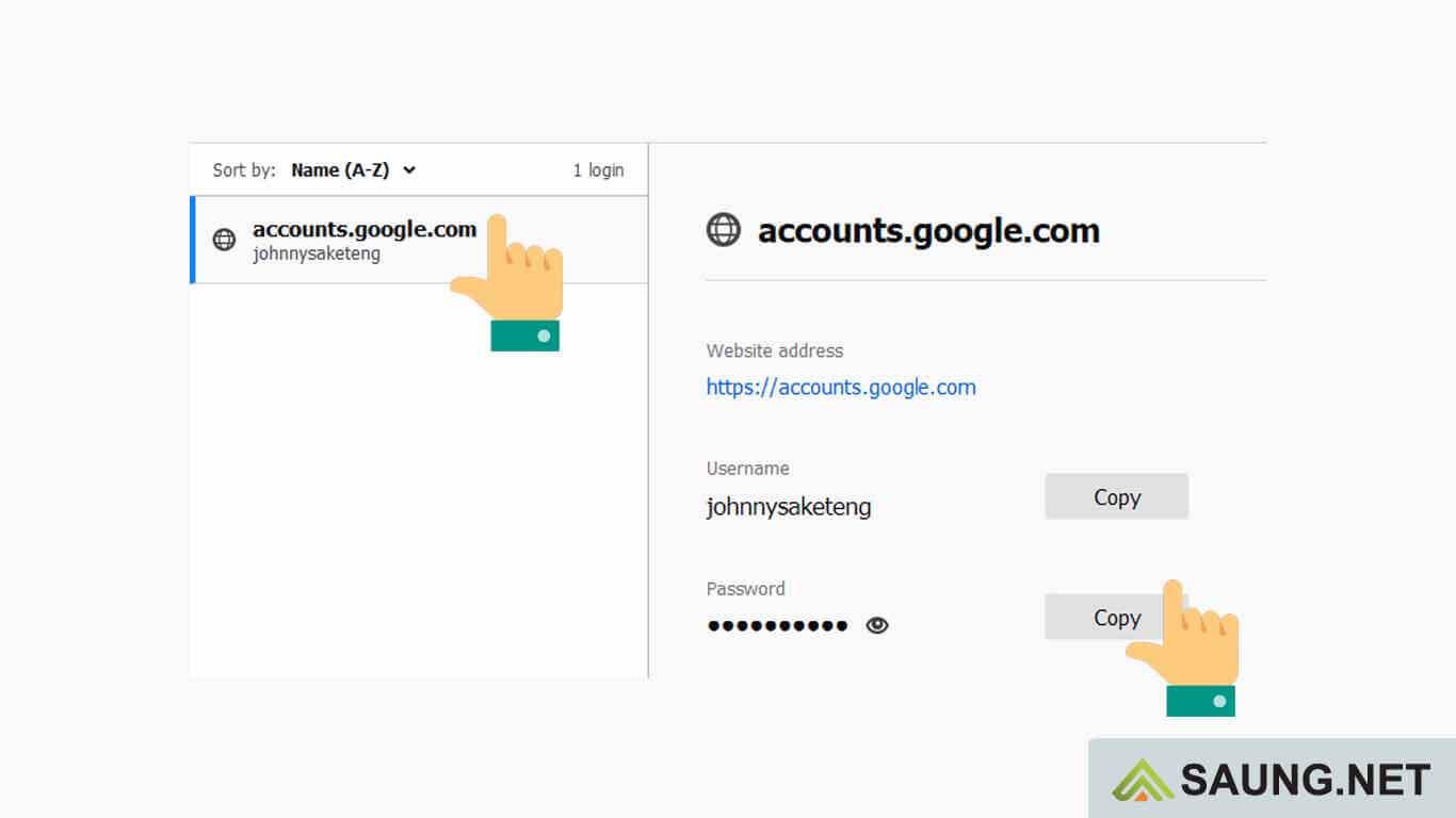 cara melihat kata sandi gmail sendiri