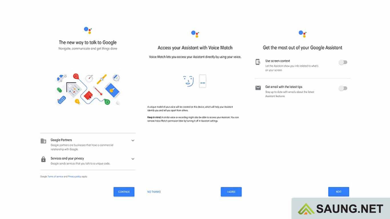 cara menggunakan asisten google