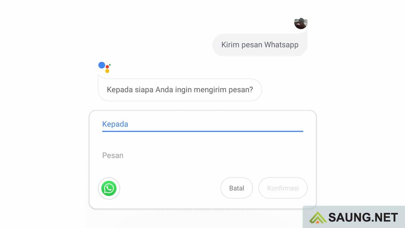 cara ngobrol dengan google assistant