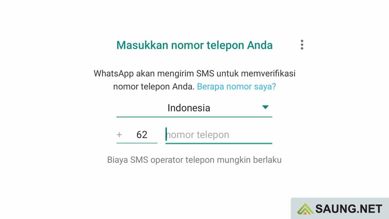 whatsapp tidak bisa verifikasi no hp