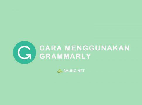 cara menggunakan grammarly
