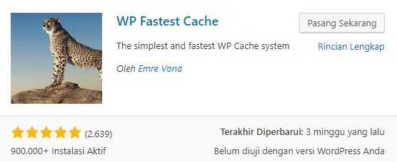 plugin WP-Fastest-Cache