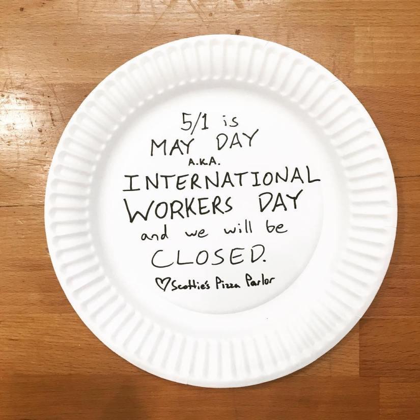 Scotties Pizza Closed May 1