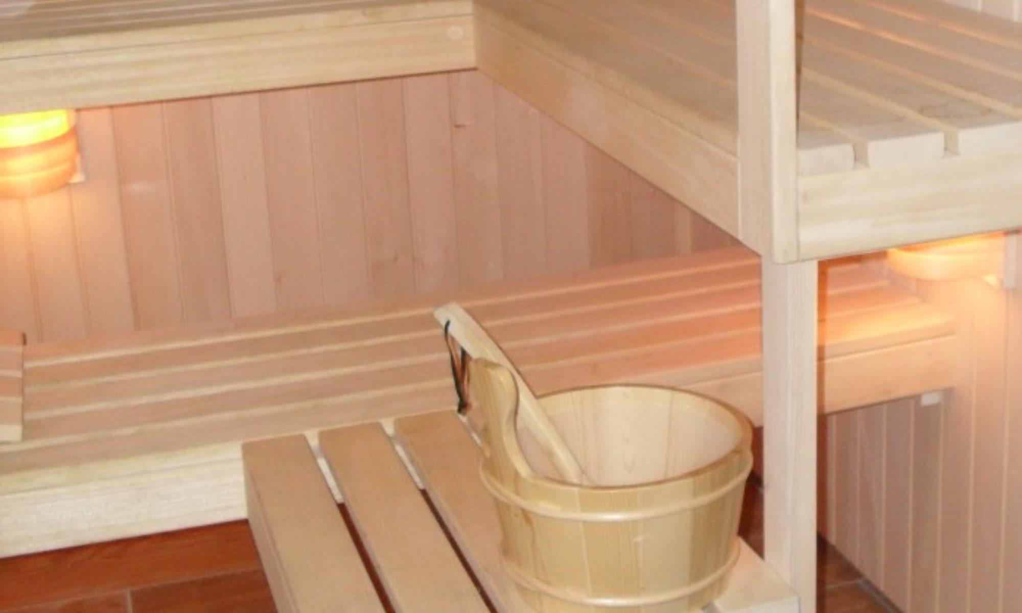 Sauna we własnym domu