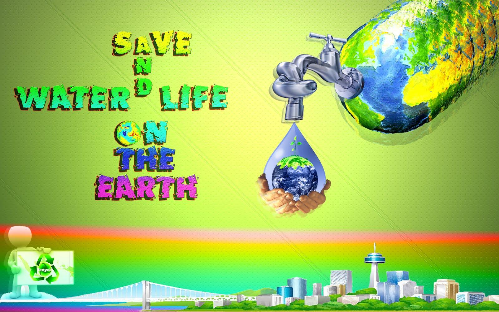 Save Water Save Life
