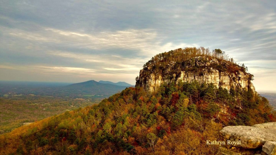 Pilot Mountain. Photo by Kathryn Royal.