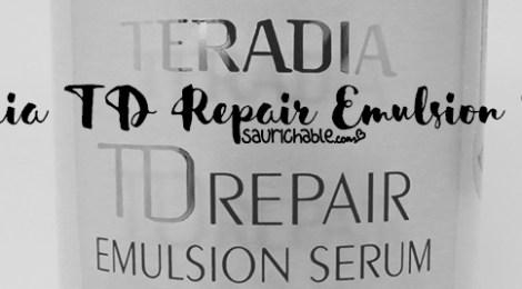 Review: Teradia TD Repair Emulsion Serum