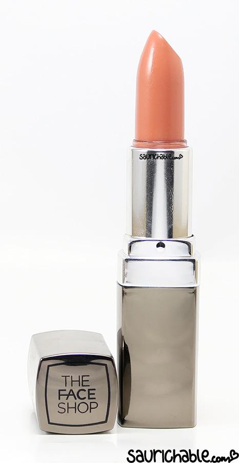 The Face Shop Black Label Lipstick review