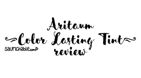 Review: Aritaum Color Lasting Tint