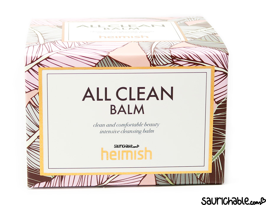 Heimish All Clean Balm review