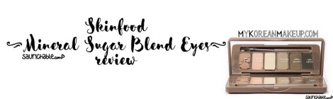 Review: Skinfood Mineral Sugar Blend Eyes