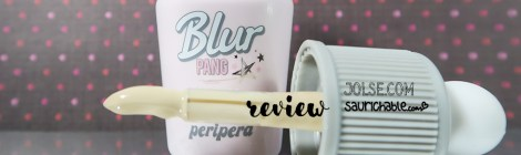 Review (acne skin): Peripera Blur Pang Whip BB