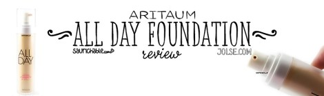 Review (acne skin): Aritaum All Day Lasting Foundation