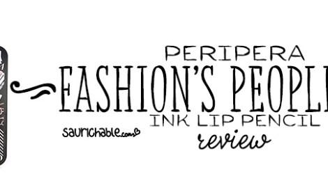 Review: Peripera Fashion's People Box Ink Lip Pencil