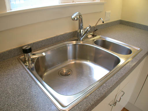 24 kitchen sink brizo faucet stainless