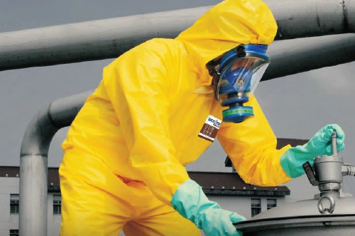 Ultitec Chemical Protection Coveralls