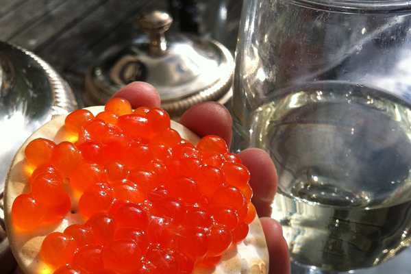 Fresh King Salmon Caviar
