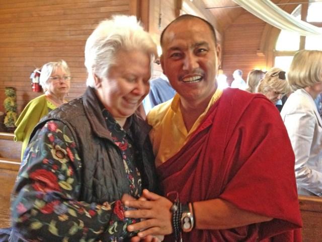 Robin and Lama Tenzin IMG_0053