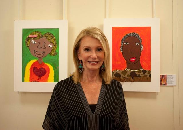 Mary Miata with 2 portraits SPC_20