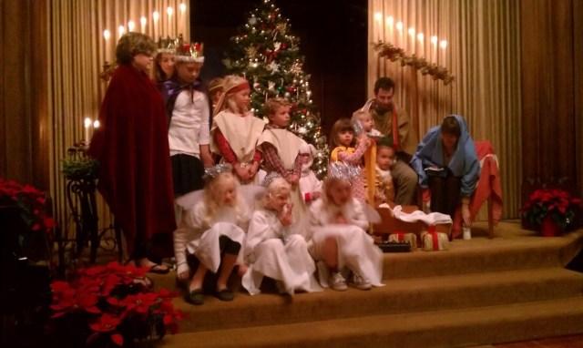 Kos, holy family Christmas Eve 2013 4