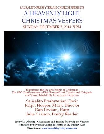Christmas Vespers 2014