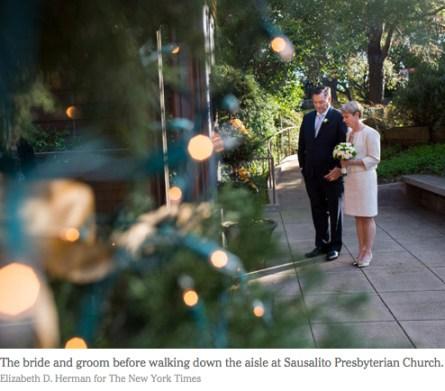 NY Times Wedding pic
