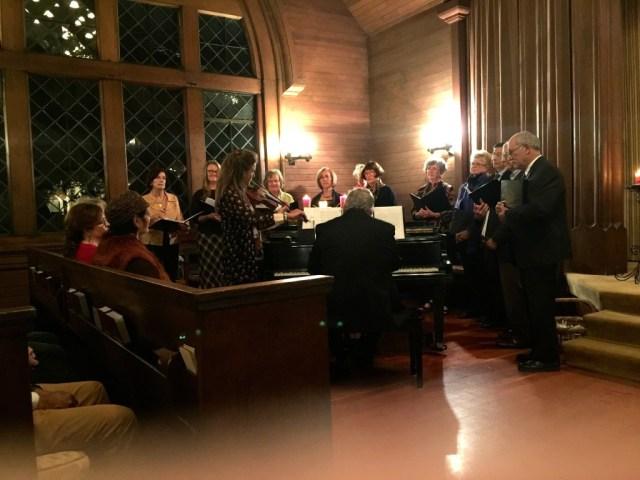 The choir and Heidi IMG_0382