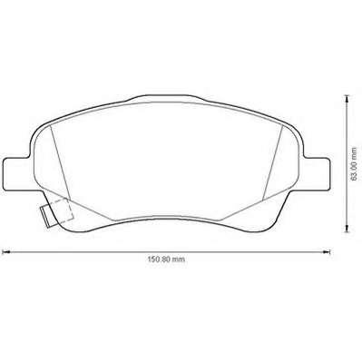 Предни накладки за Toyota COROLLA Verso (ZER_, ZZE12_, R1