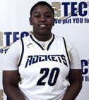 Black Female Basketball Player