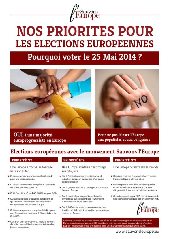 Tract SLE Européeennes 2014