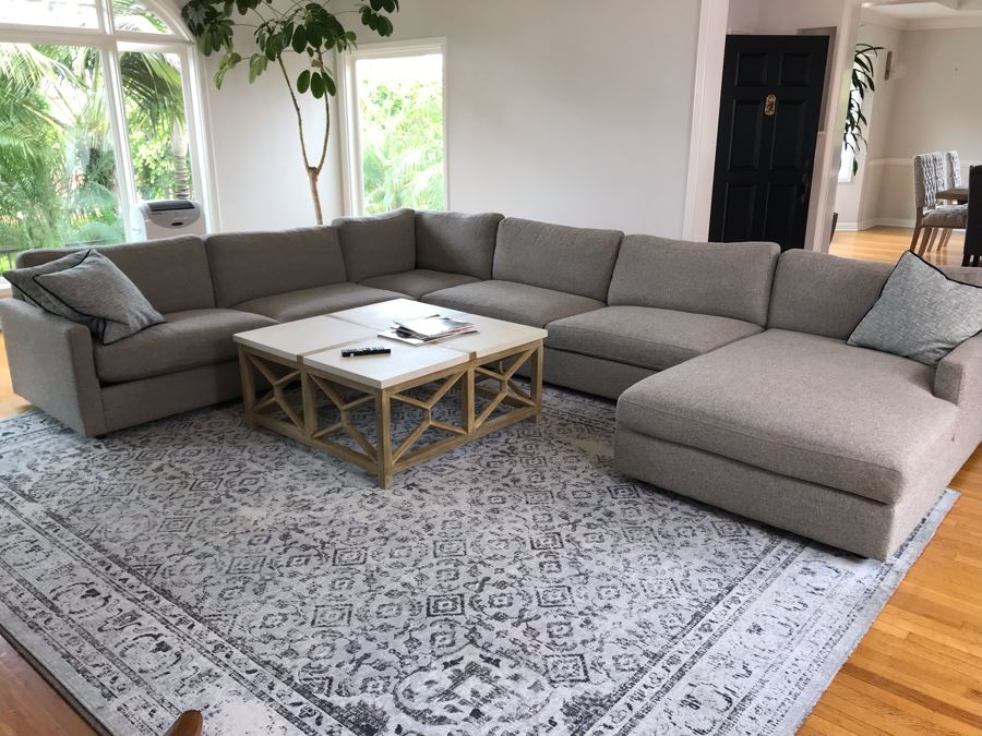 room and board linger sectional with