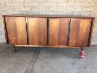 Mid-century Modern Credenza Hutch Cabinet