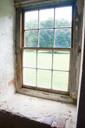 View from the slave quarters at Drayton Hall