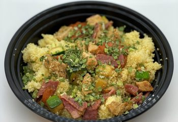 Honey Pork Couscous