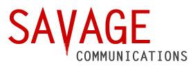 Savage Communications logo