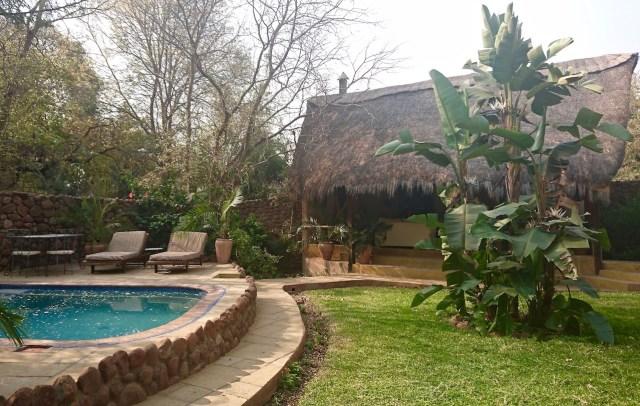 The Garden House, where I stayed at Tongabezi last month.