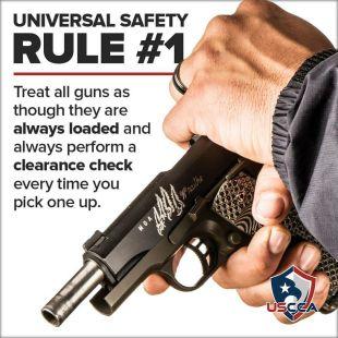 Firearms Safety Rule 1