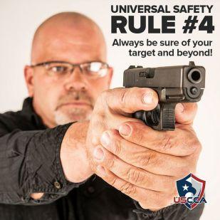 Firearms Safety Rule 4