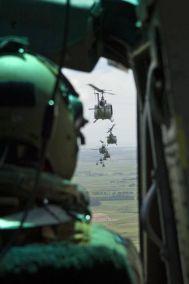 huey helicopters pov