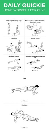 Daily Home Workout For Guys