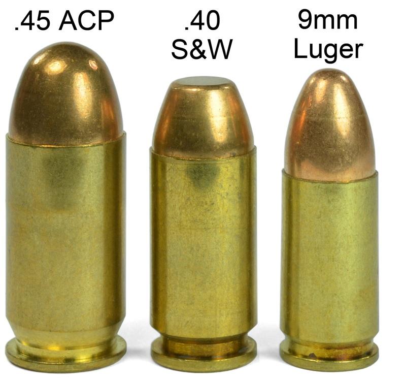 The 9mm Vs 40 S Amp W Vs 45 Acp Caliber Debate The