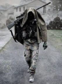 Hooded Sniper