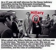 Hillary Clinton Dishonest Piece Of Shit