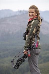 Female Bow Hunter
