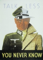 WWII OPSEC Poster