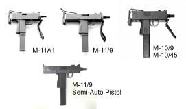 4 macs submachine guns